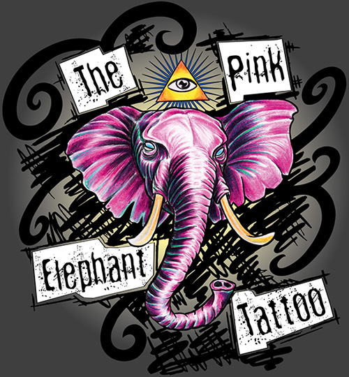 The Pink Elephant Tattoo